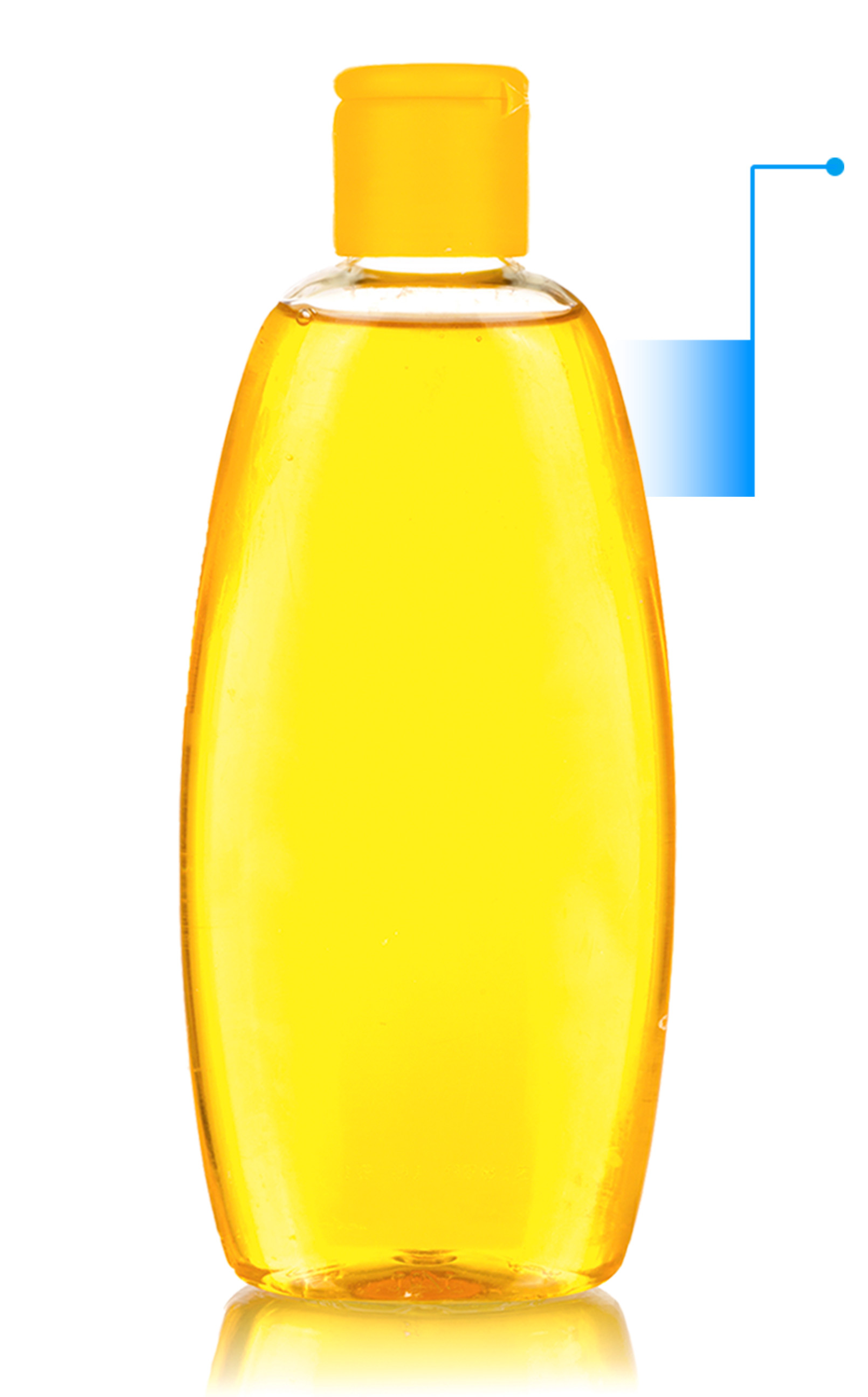 baby product bottle with right arrow