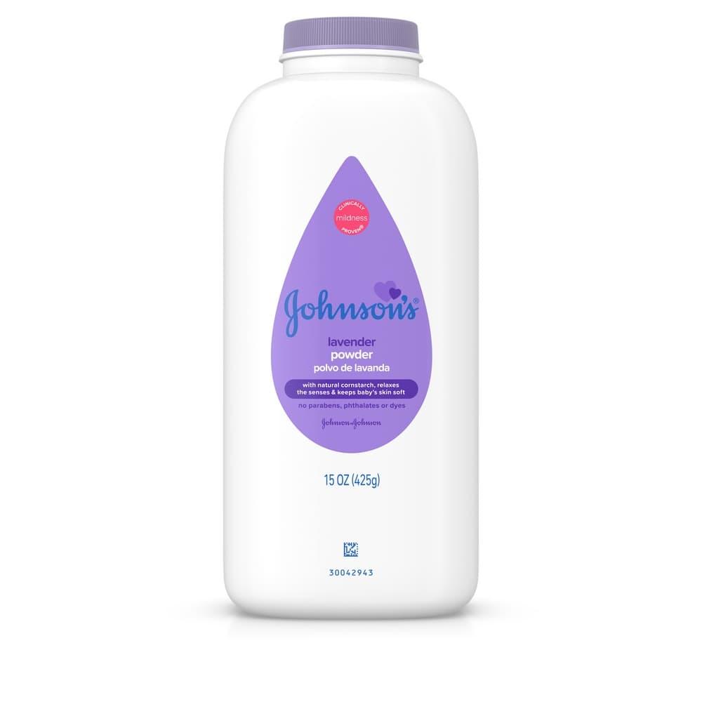 Johnson S Lavender Baby Powder