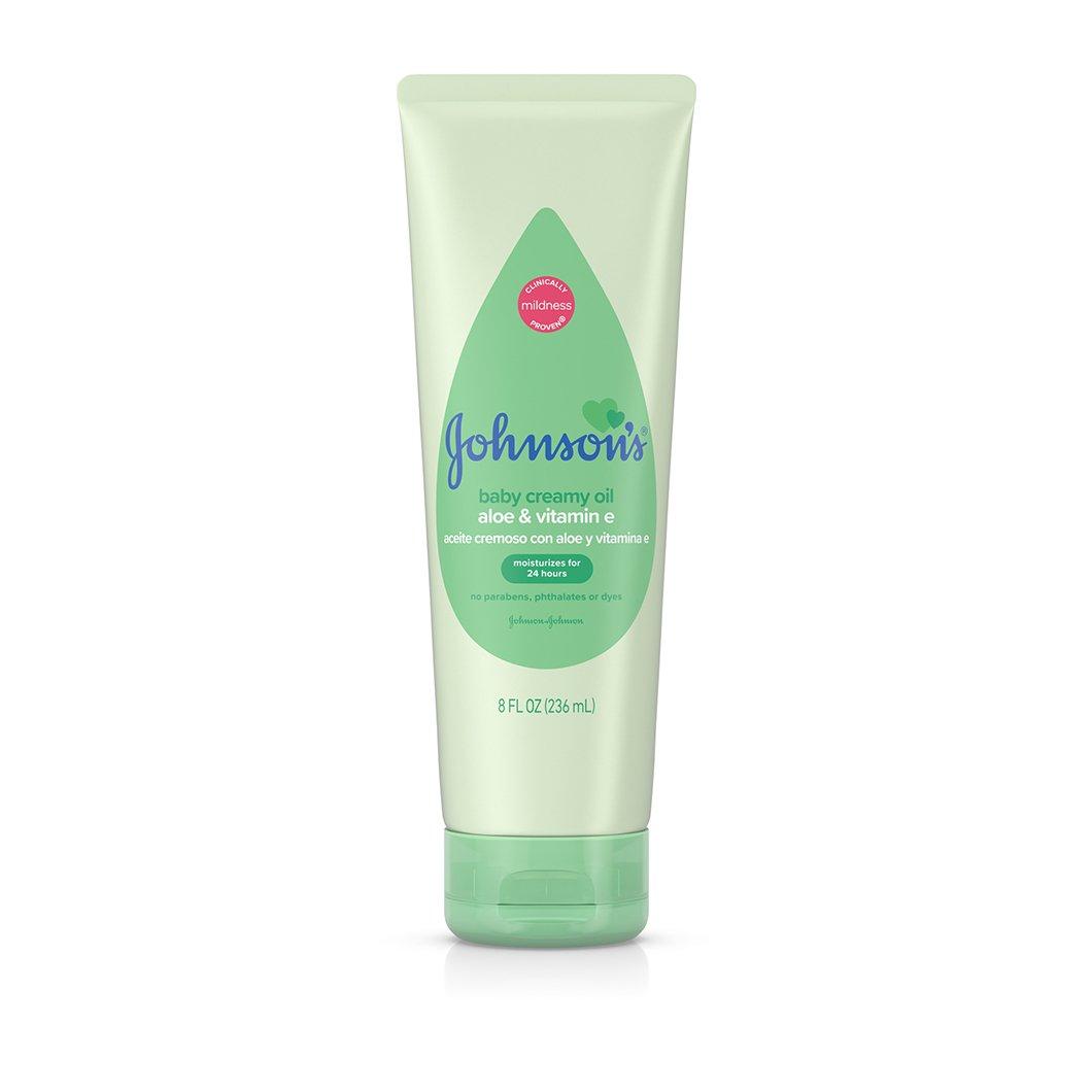 Johnson S 174 Creamy Baby Oil With Aloe Amp Vitamin E