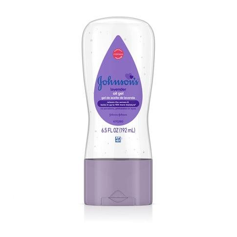 JOHNSON'S® lavender baby oil gel front