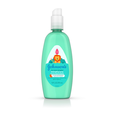 JOHNSON'S® NO MORE TANGLES® detangling spray front