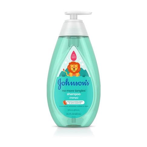 JOHNSON'S® NO MORE TANGLES® shampoo front