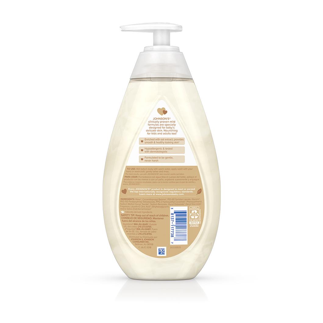 Johnson S 174 Skin Nourish Vanilla Oat Baby Wash