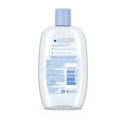 JOHNSON'S® baby cologne ingredients