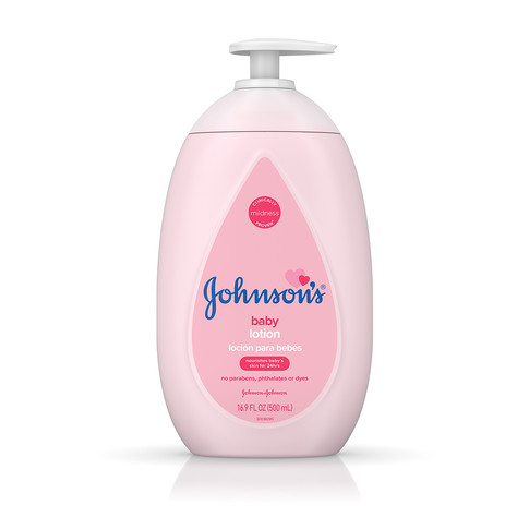 JOHNSON'S® baby lotion front