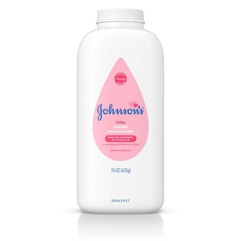 JOHNSON'S® baby powder front