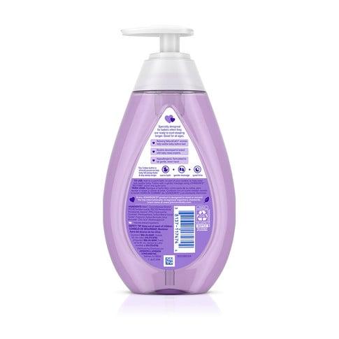 JOHNSON'S® BEDTIME® baby bath ingredients