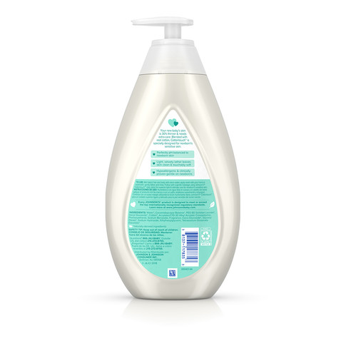 JOHNSON'S® COTTONTOUCH™ newborn wash shampoo ingredients