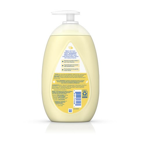 JOHNSON'S® HEAD-TO-TOE® baby lotion ingredients