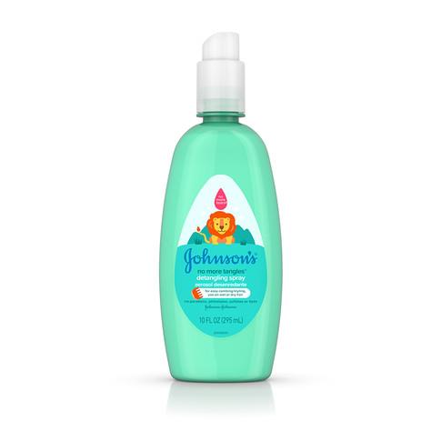JOHNSON'S® NO MORE TANGLES® detangling spray front