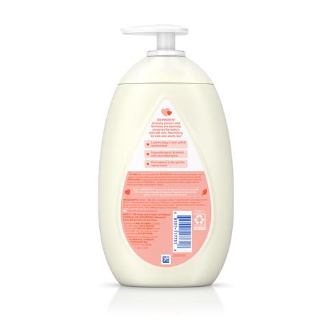 JOHNSON'S® skin nourish sweet apple baby lotion ingredients