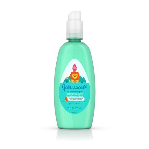 Johnson's® No More Tangles® Detangling Spray bottle