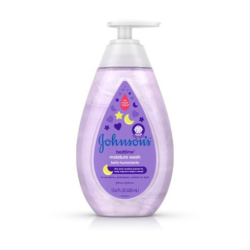 Johnson's® Bedtime® Moisture Wash bottle