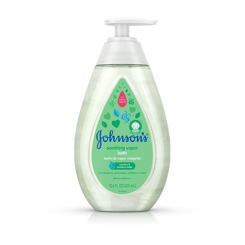 Johnson's® Soothing Vapor Wash bottle