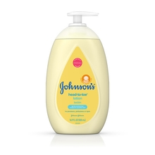 JOHNSON'S® HEAD-TO-TOE® baby lotion front