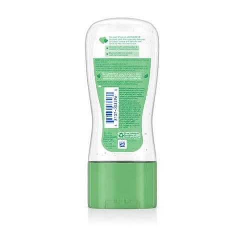 JOHNSON'S® aloe vitamin e baby oil gel ingredients
