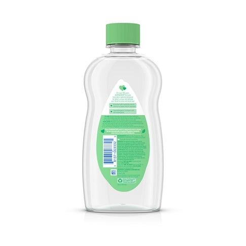 JOHNSON'S® aloe vitamin e baby oil ingredients