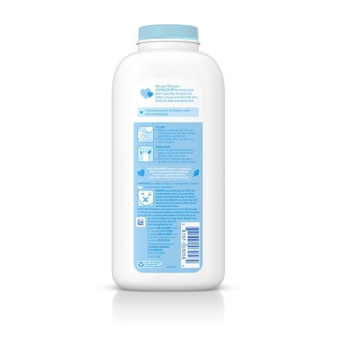 JOHNSON'S® aloe vitamin e baby powder ingredients
