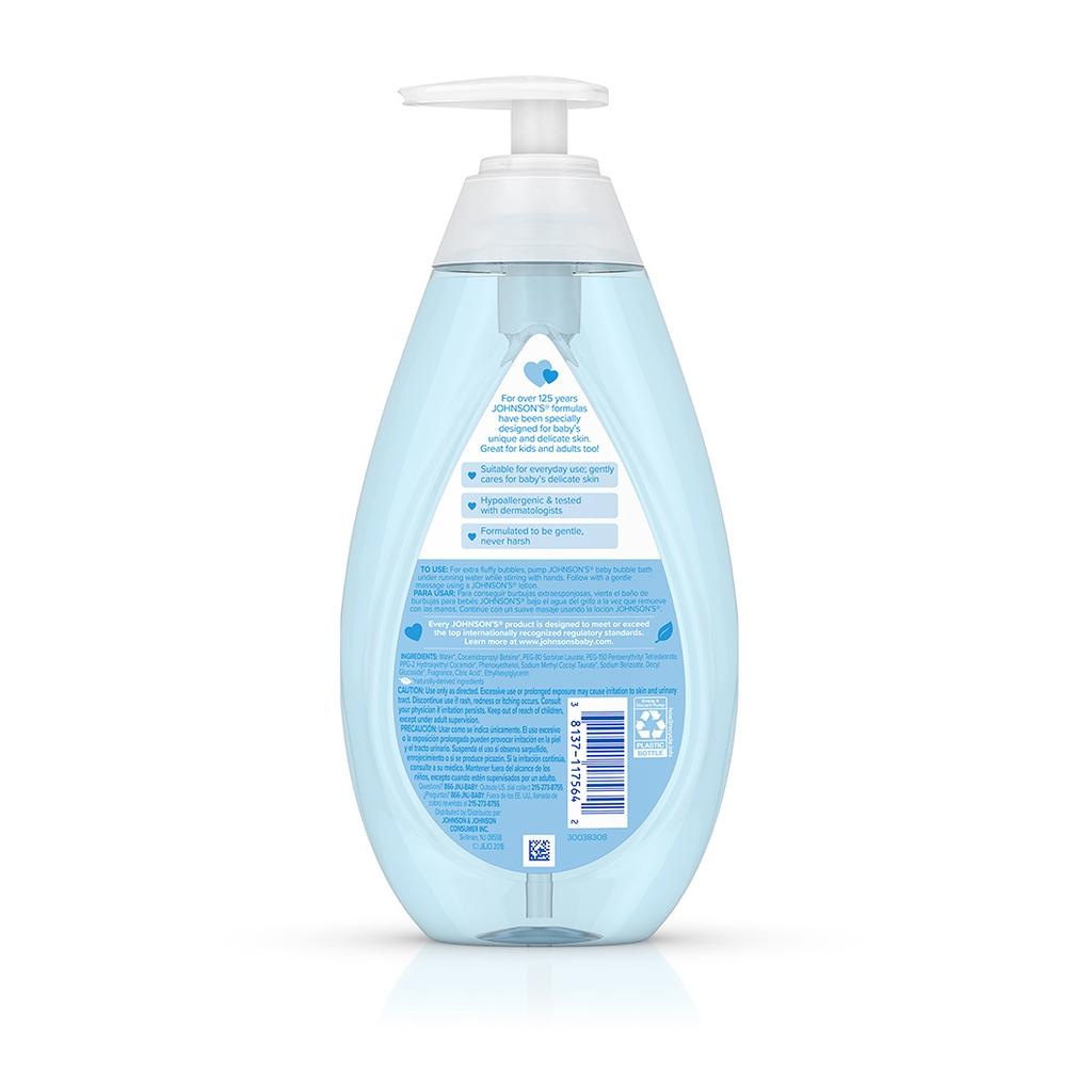 JOHNSON'S® baby bubble bath ingredients