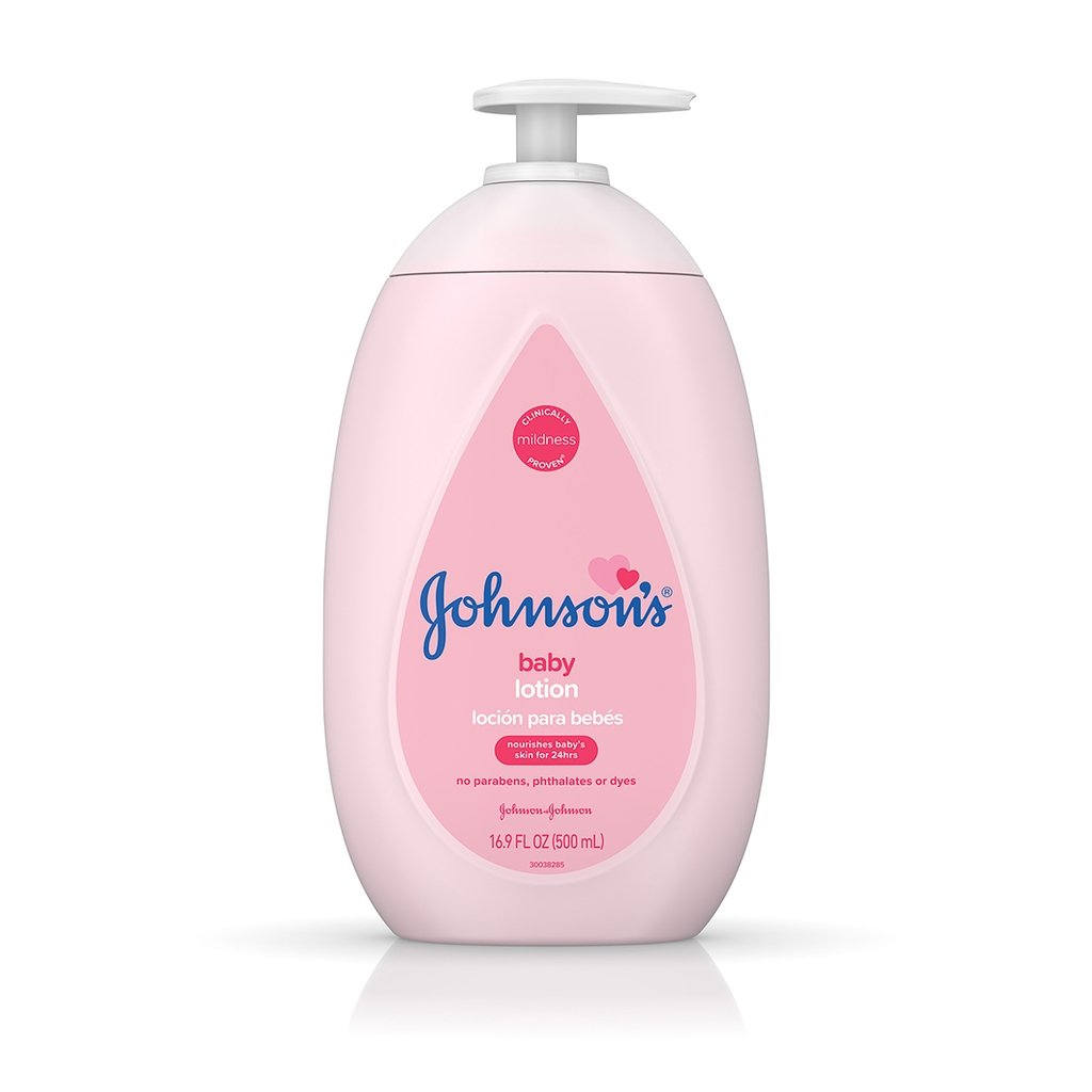 Lotion: Johnson's® Baby Lotion
