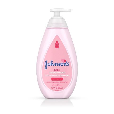 JOHNSON'S® baby moisture wash front