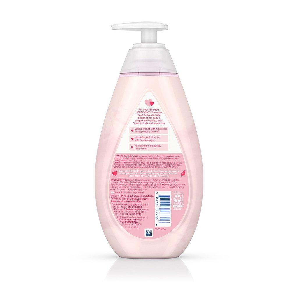 JOHNSON'S® baby moisture wash ingredients