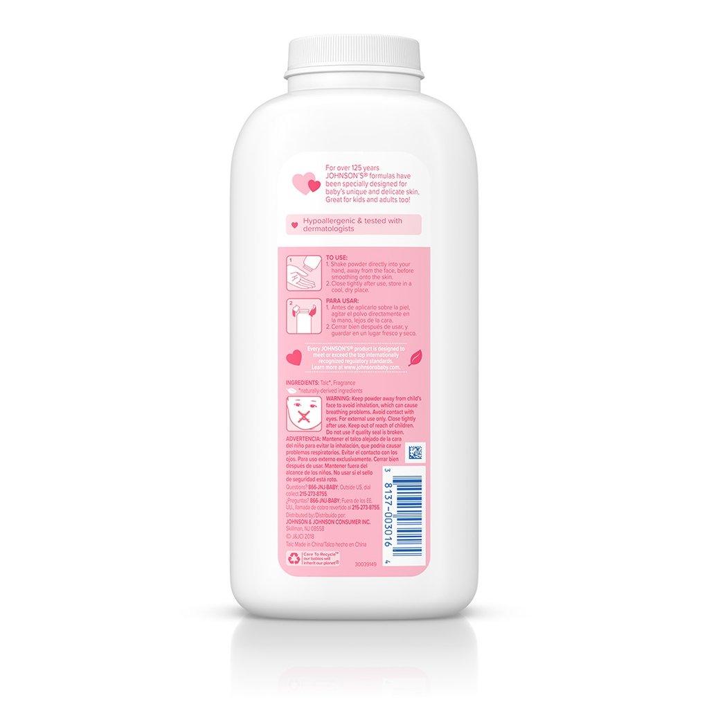 JOHNSON'S® baby powder ingredients