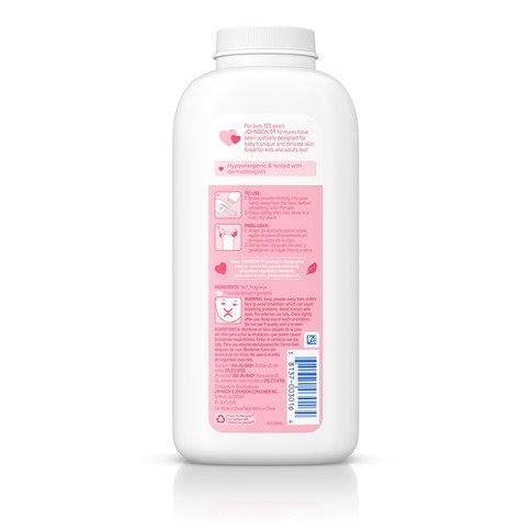 JOHNSON'S® baby powder ingredients