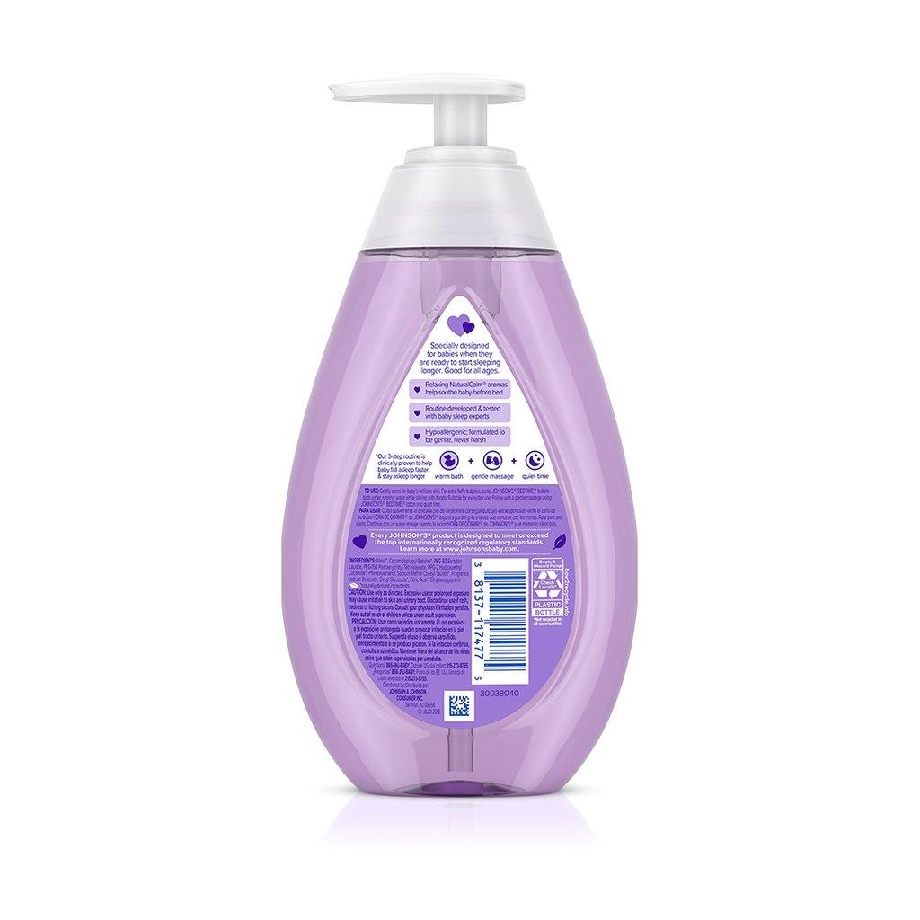 JOHNSON'S® BEDTIME® baby bubble bath ingredients