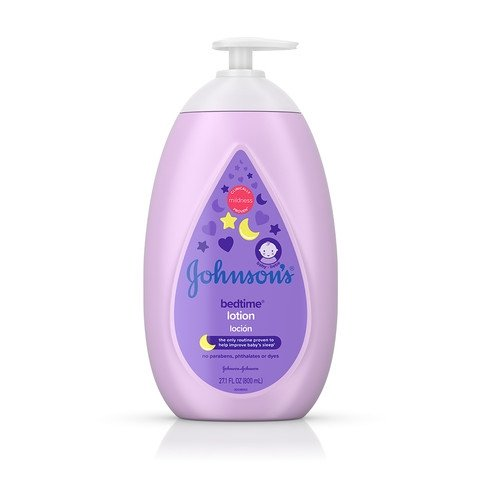 JOHNSON'S® BEDTIME® baby lotion front