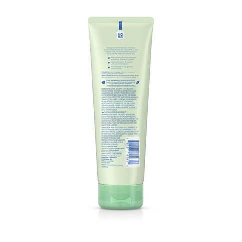 JOHNSON'S® creamy baby oil aloe vitamin e ingredients
