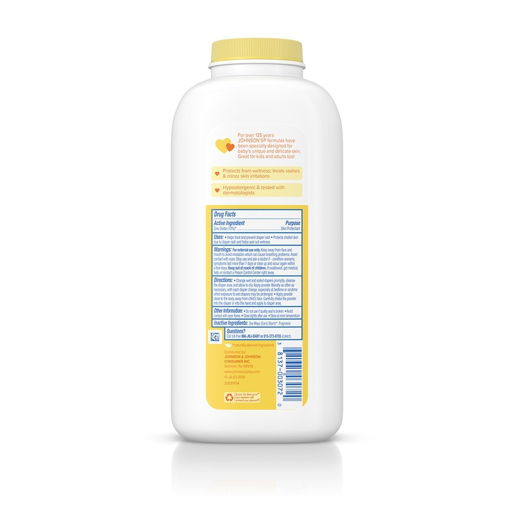 JOHNSON'S® medicated baby powder ingredients