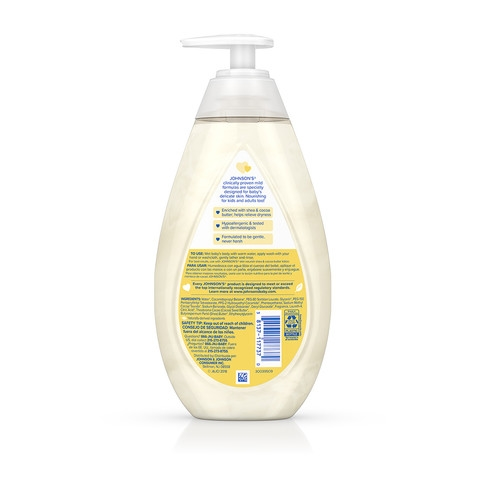 JOHNSON'S® skin nourish shea cocoa butter baby lotion ingredients