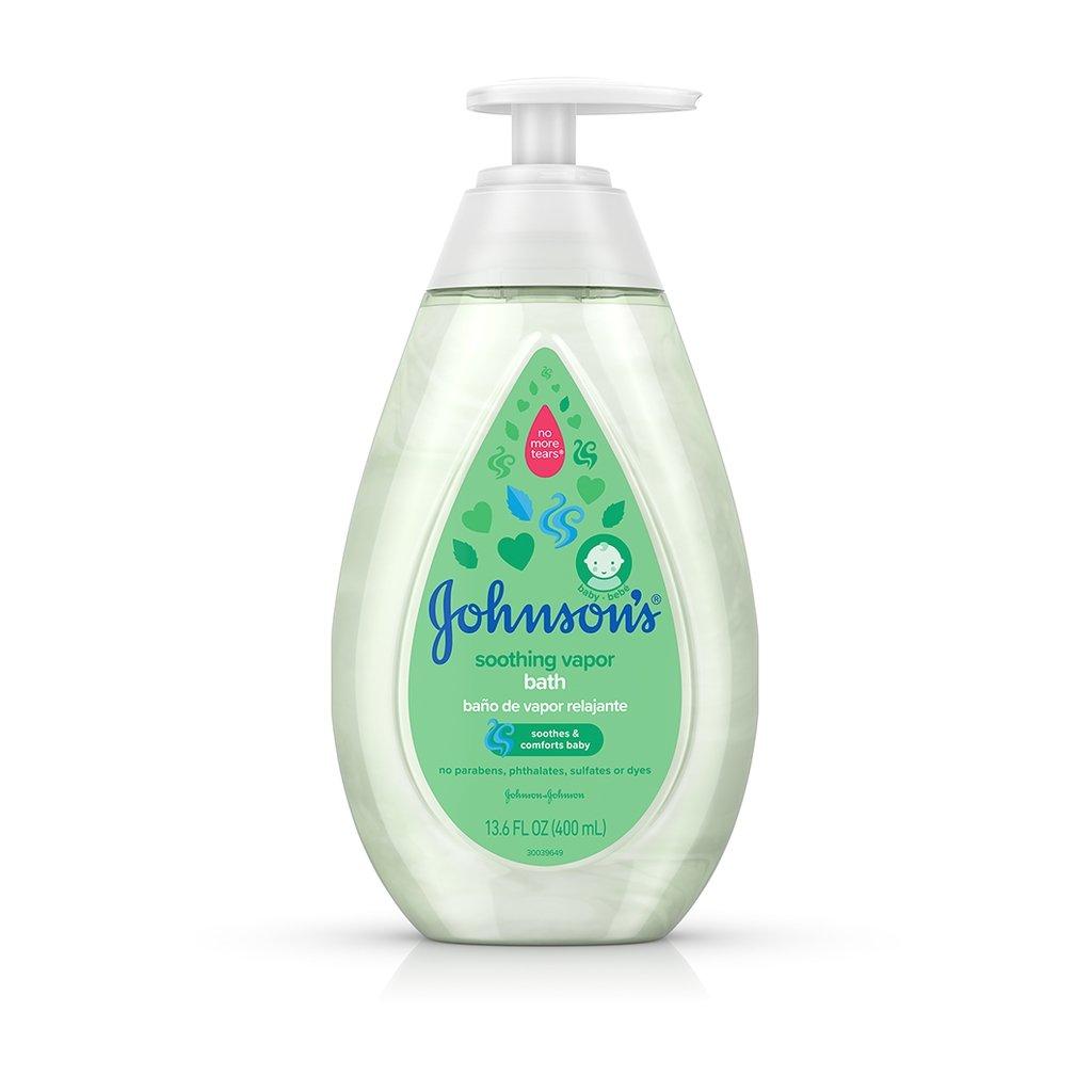 JOHNSON'S® soothing vapor bath front