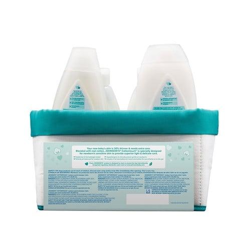 JOHNSON'S® touchably soft newborn gift set ingredients