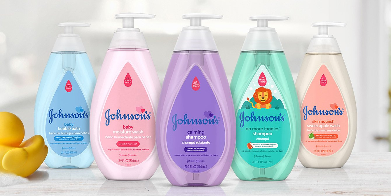Johnson's® line of baby products