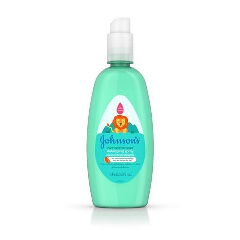 Johnson's® No More Tangles® Detangling Spray bottle
