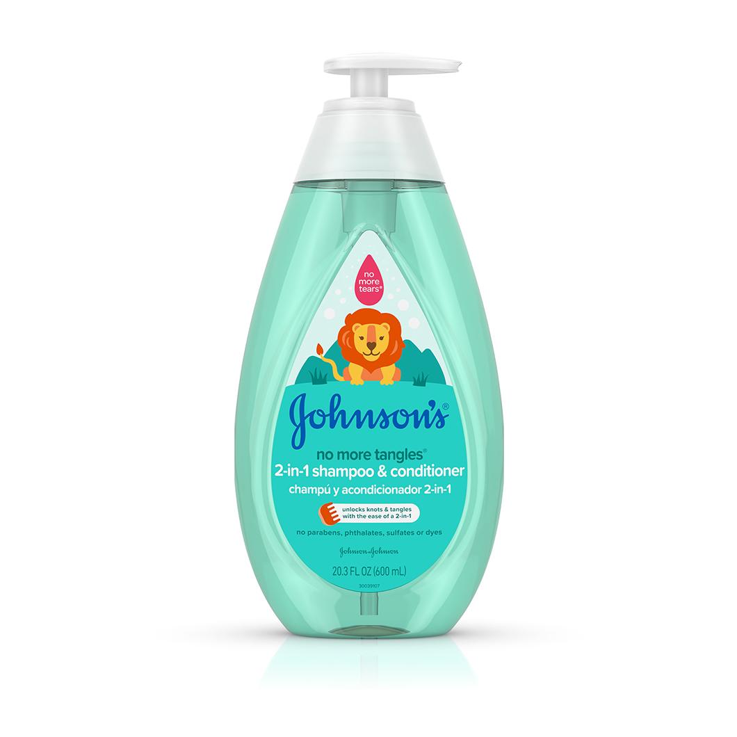 Johnson's® No More Tangles® 2-in-1 bottle
