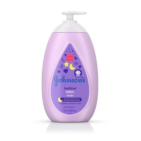 Johnson's® Bedtime® Lotion bottle