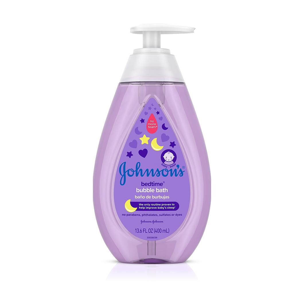 Johnson's® Bedtime® Bubble Bath bottle