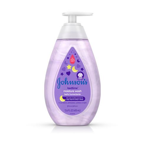 Johnson's® Bedtime® Moisture Wash bottle
