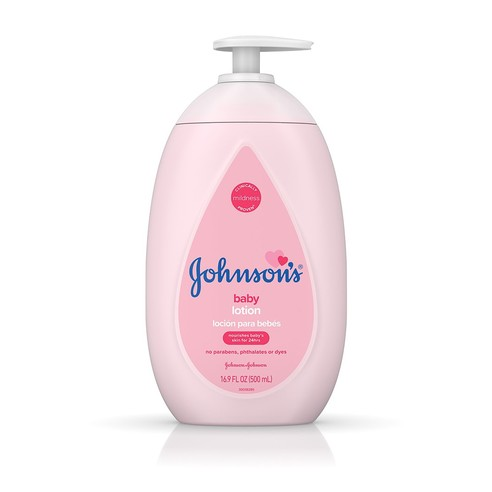 Johnson's® Baby Lotion bottle