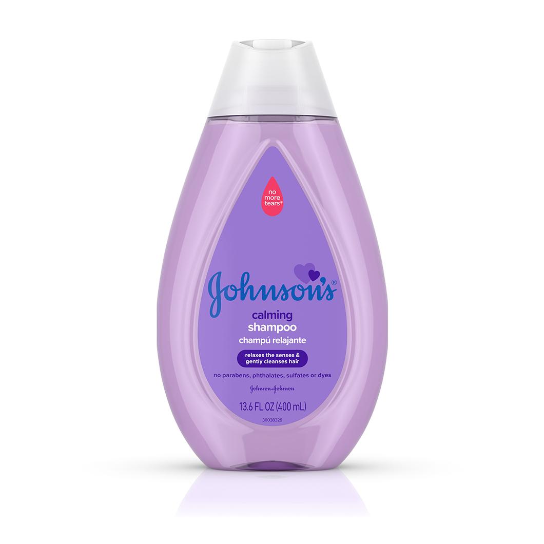 Johnson's® Calming Shampoo bottle