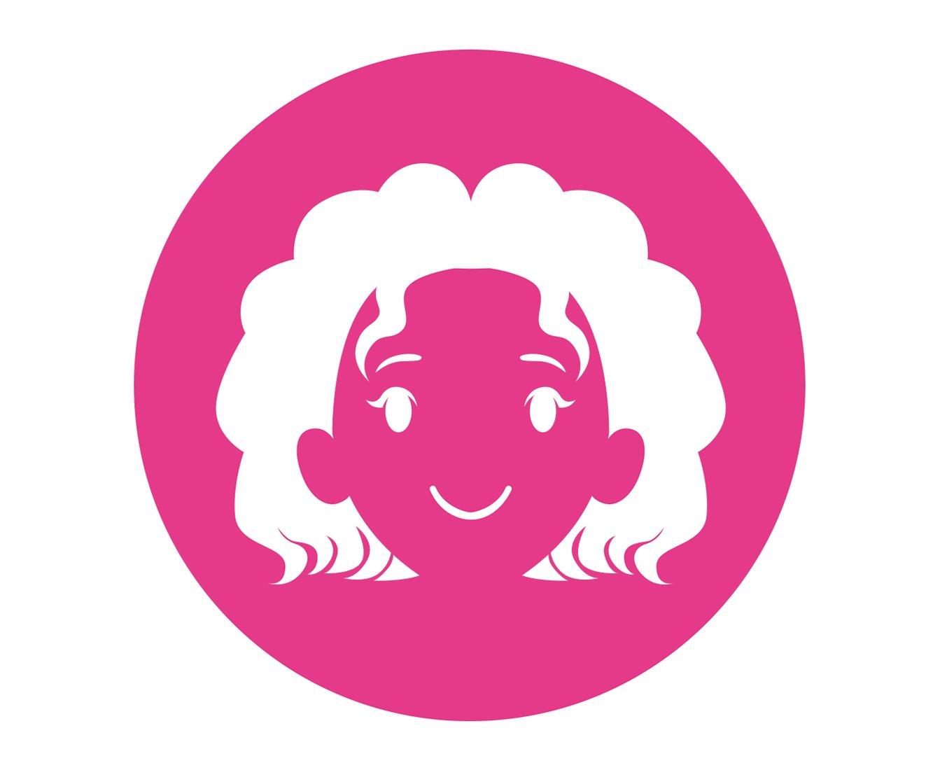 toddler hair icon